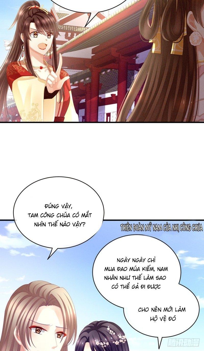 Hậu Cung Của Nữ Đế chap 16 - Trang 6