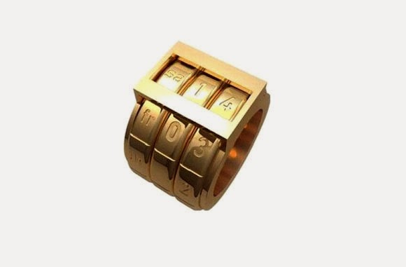 Ingeniosos y únicos anillos de metal.