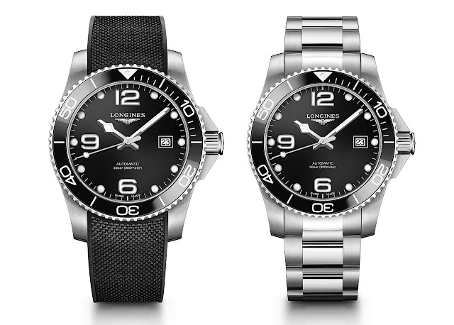 Longines HydroConquest Ceramic black bezel