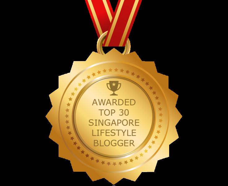feedspot top 30 singapore lifestyle blogger award