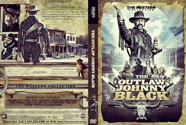 The Outlaw Johnny Black DVD Cover
