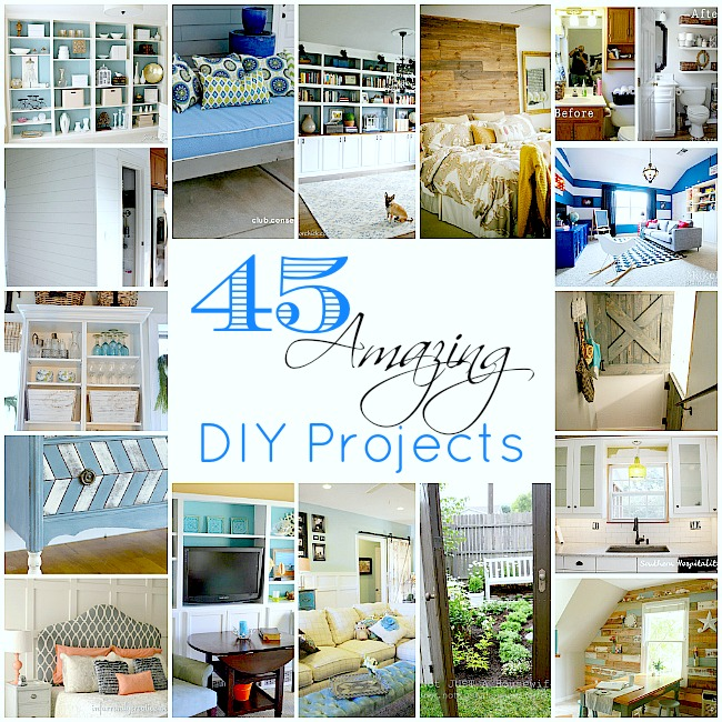 Someday Crafts: 45 Amazing DIY Projects