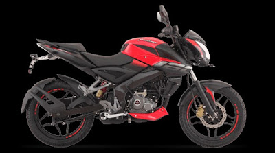 New 2017 Bajaj Pulsar NS 160 side view hd pics