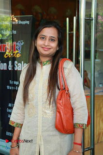 Bollywood Actress Sana Khan Launches Aakrithi Exibition  0037.JPG