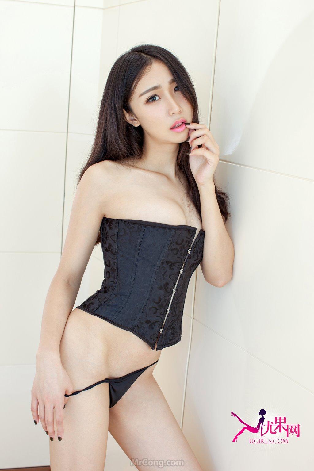 Beauty Zhang Xin Yuan (张辛苑) khoe body sexy in collection UGIRLS 124