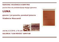 Vladimira Mascarell, predstavljanje knjige Luna, Supetar slike otok Brač Online