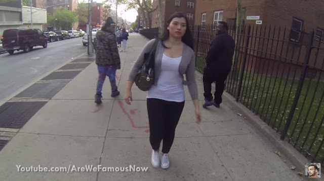 Woman Tests How People Will React If She Wears A Hijab In The Streets of New York