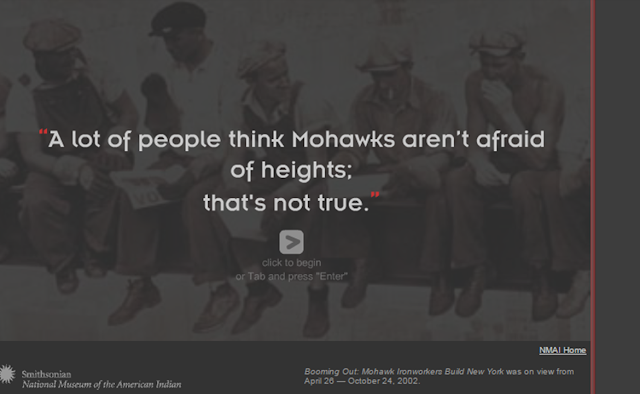 Booming Out: Mohawk Ironworkers Build New York Online Exhibit.