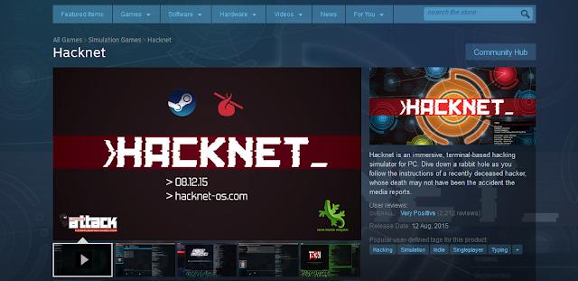 "Cara Cepat menjadi Hacker dengan ""Hacknet"""