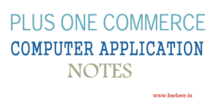 PLUS ONE COMPUTER APPLICATION NOTES - Hse Here