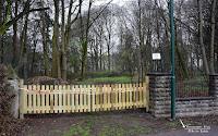 Kein Zutritt mehr im Pohlmannpark in Hohenaspe