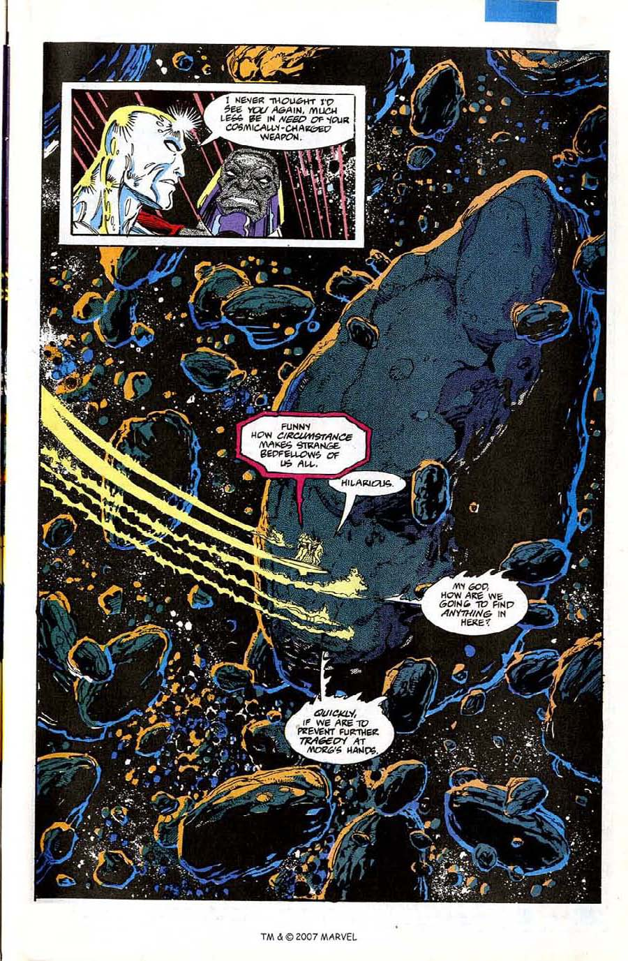Read online Silver Surfer (1987) comic -  Issue #74 - 27