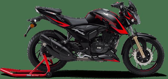 best bike under 1 lakh, Tvs apacahe rtr 200 4v