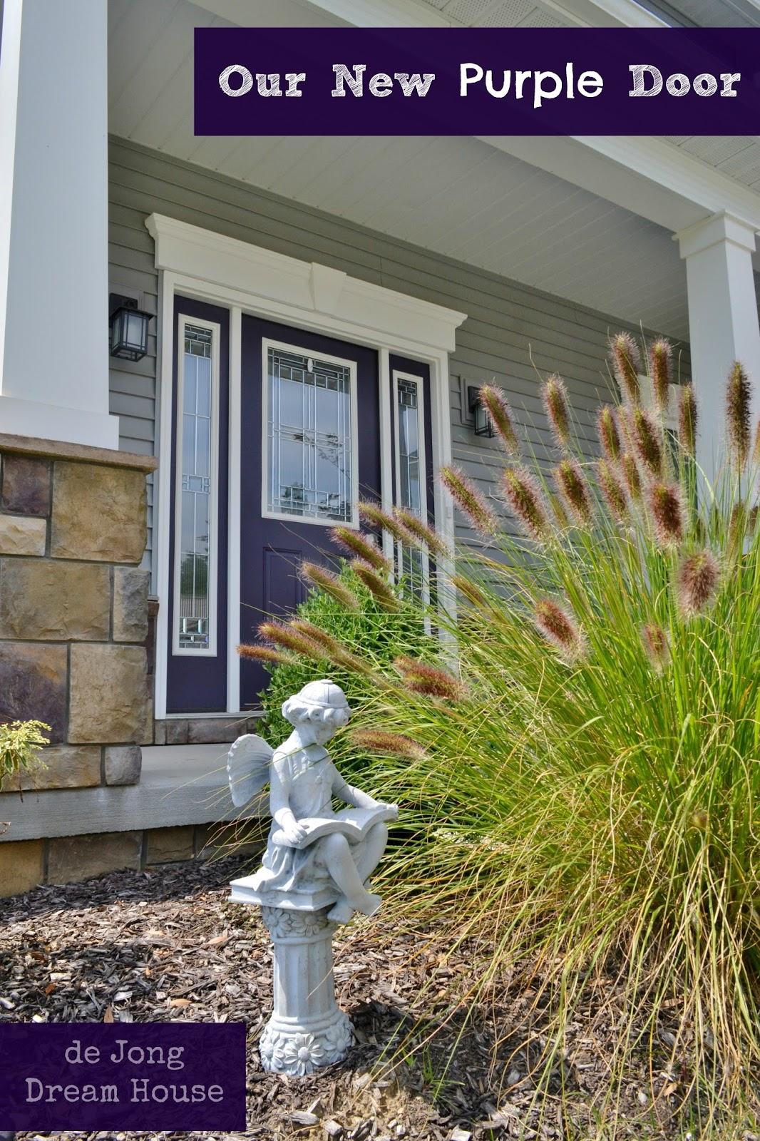 De Jong Dream House Our Purple Door