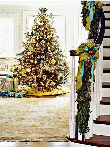 How to decorate a Crhistmas tree, ways to decorate a christmas tree