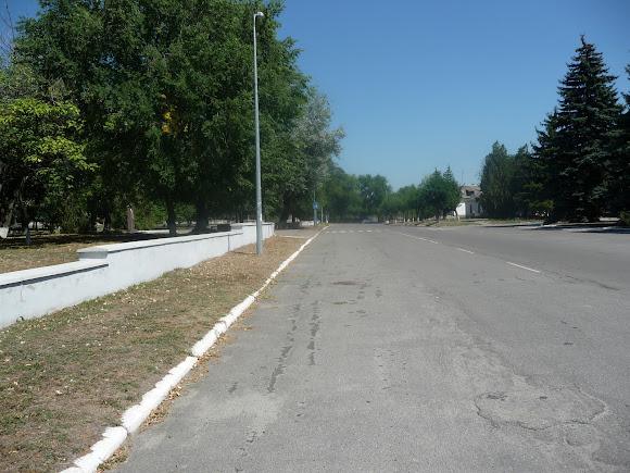Васильковка. Парковый пер.