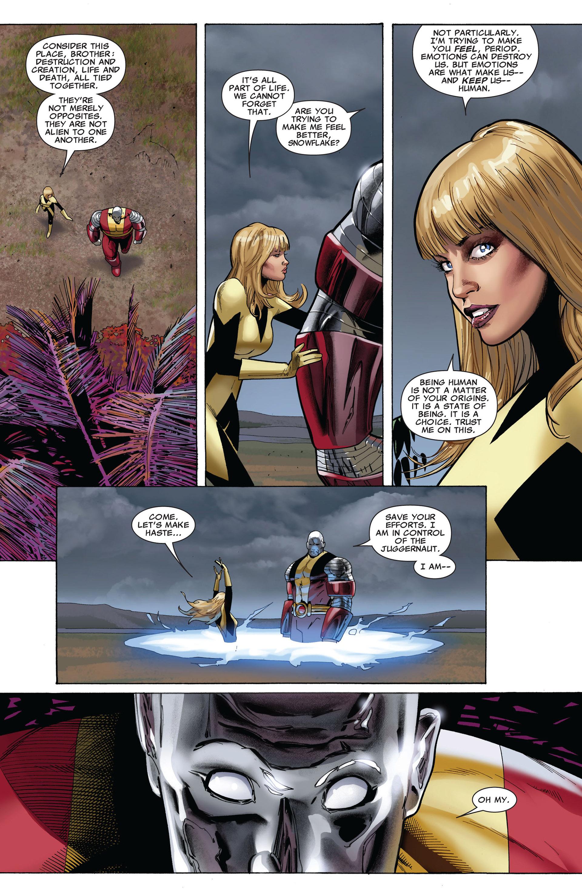 Read online Uncanny X-Men (2012) comic -  Issue #5 - 13