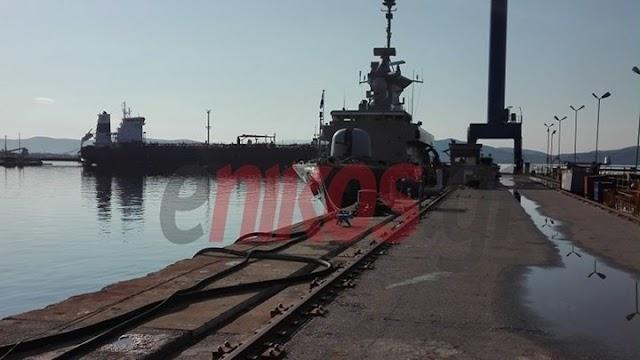 Επίσημη ένταξη της ΤΠΚ 6 «Καραθανάσης» στο Πολεμικό Ναυτικό (ΦΩΤΟ-ΒΙΝΤΕΟ)