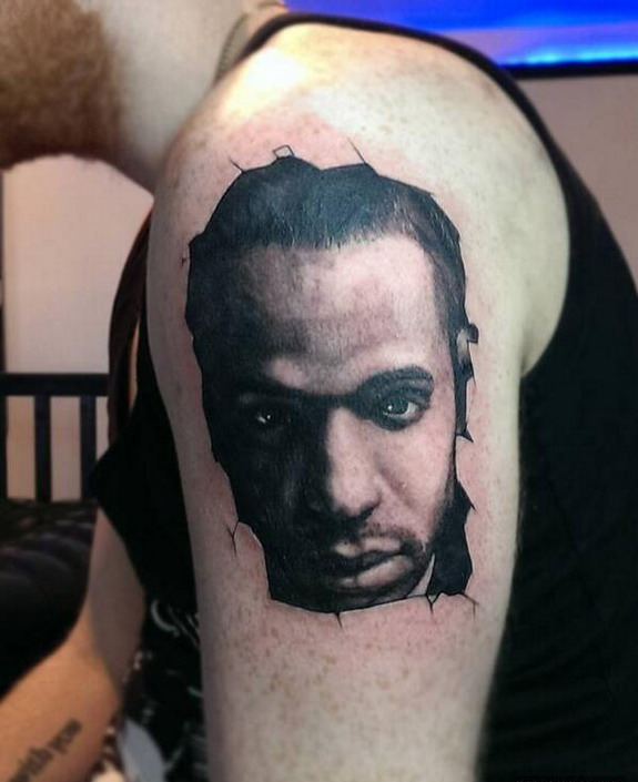 The most lifelike Thierry Henry tattoo you've ever seen