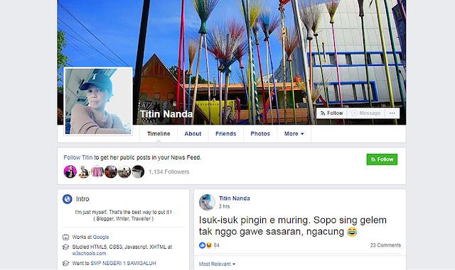 Agar Banyak Yang Like di Facebook Buatlah Status Nyleneh