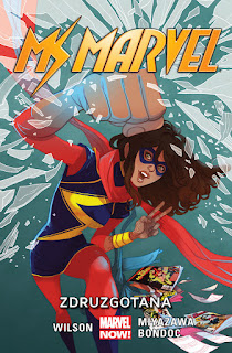 Ms Marvel tom 3: Zdruzgotana okładka