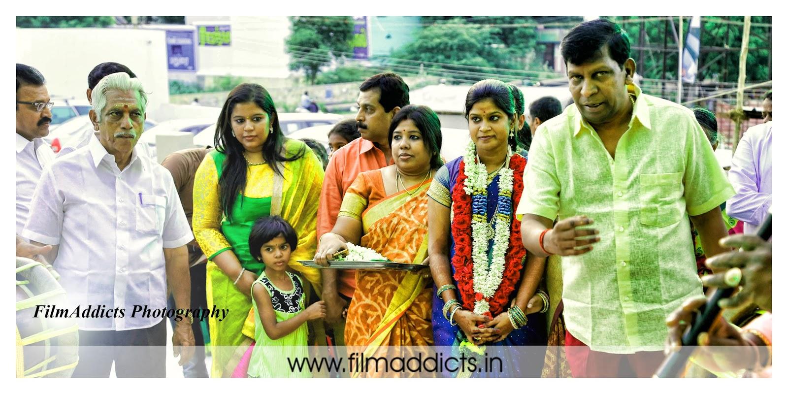 FilmAddicts Photography: Tamil Comdey Actor Vadivelu ... Vadivelu Daughter Kavya Marriage