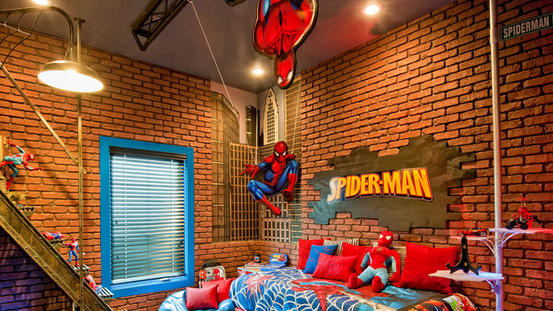 SPIDER MAN BEDROOM