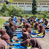 SMP Muhammadiyah Mejayan Dapatkan Pelatihan LDK dari TNI