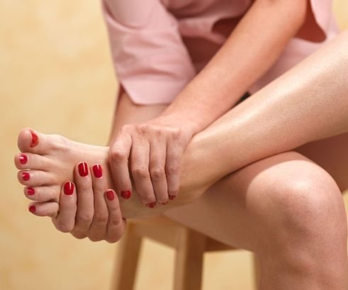 Gout is a form of arthritis. It is caused by excessive uric acid in the body. It can form needle like points in the body. It can not only just affect the foot, but also the ankle and knees.