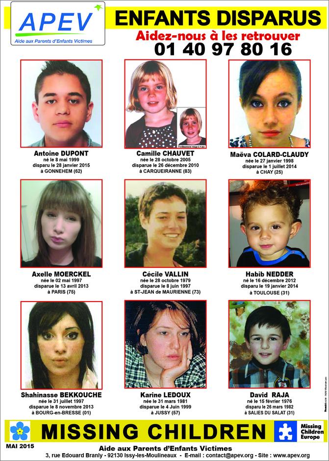 25 mai journ e internationale des enfants disparus. Black Bedroom Furniture Sets. Home Design Ideas