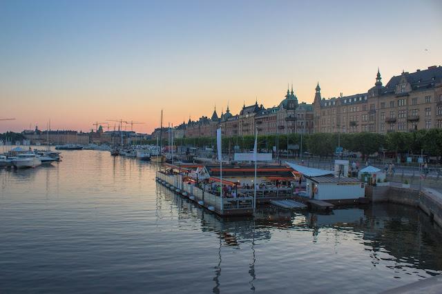 Pôr do Sol em Estocolmo