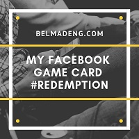 My Facebook Game Card Redemption