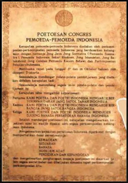 Contoh Pidato Sambutan HUT & Sejarah Singkat Sumpah Pemuda  28 Oktober
