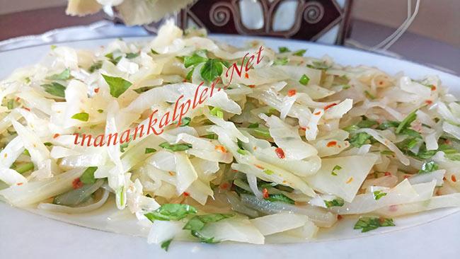Lahana Turşusundan Salata Nasıl Yapılır - www.inanankalpler.net