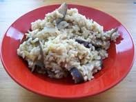 rezept vegan Melanzani-Risotto Hauptspeise