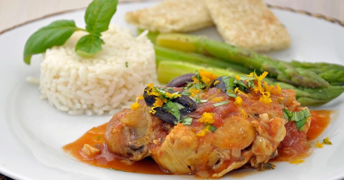 ... Carolina Kitchen: Chicken Provençal with Saffron, Orange, and Basil