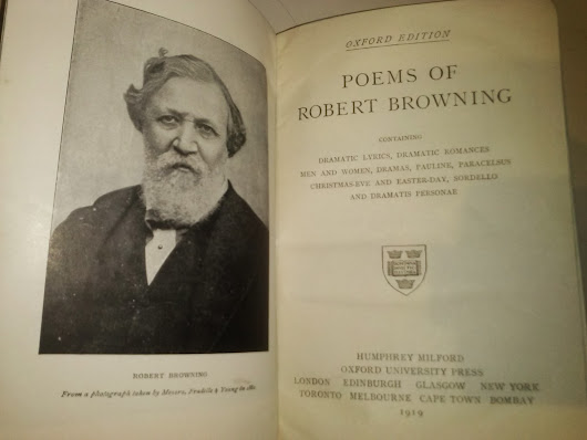 Mi colección: Poems of Robert Browning