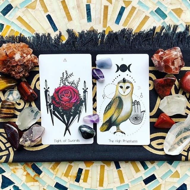 Los animales en las cartas del Tarot