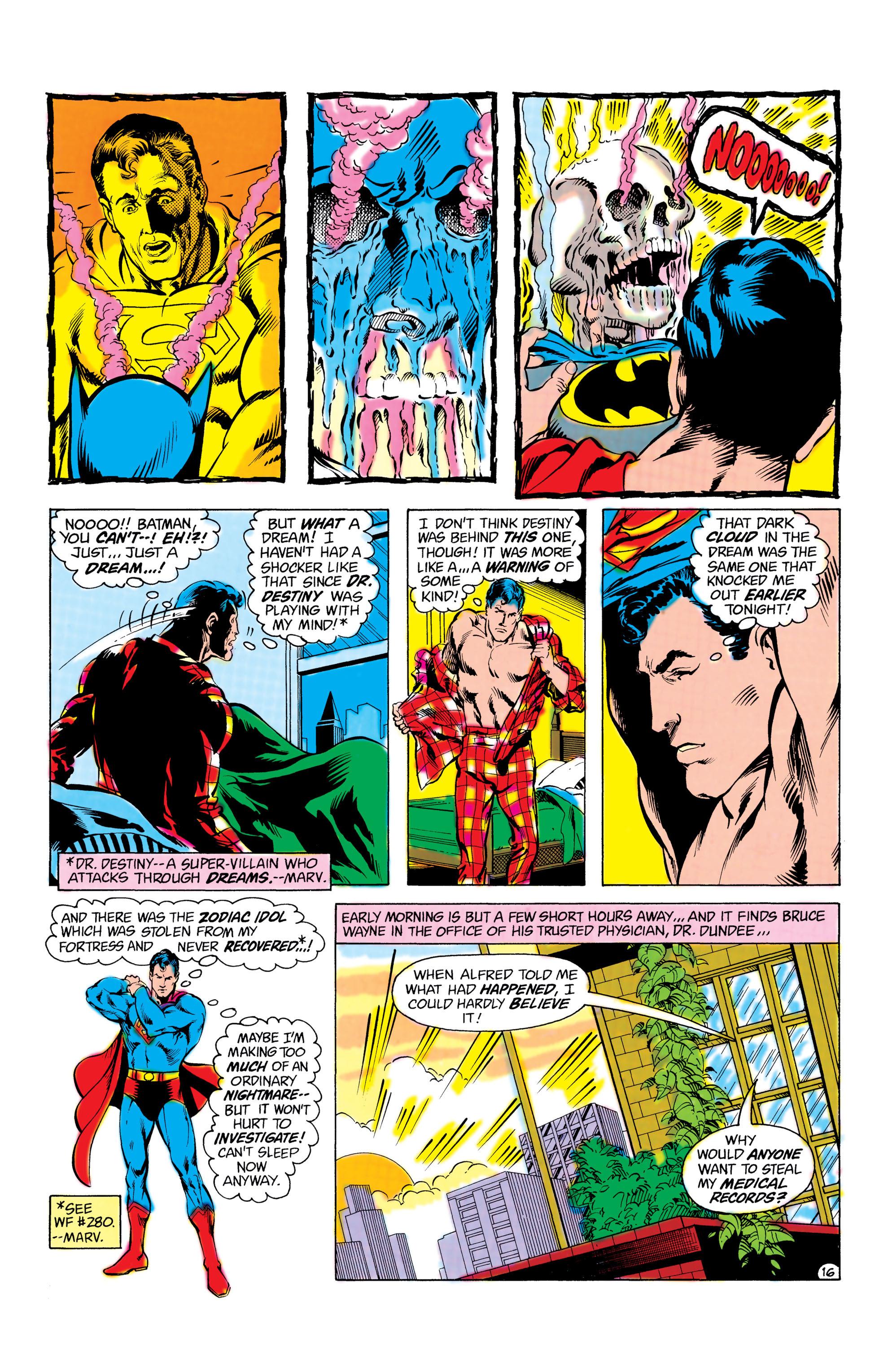 Read online World's Finest Comics comic -  Issue #285 - 17