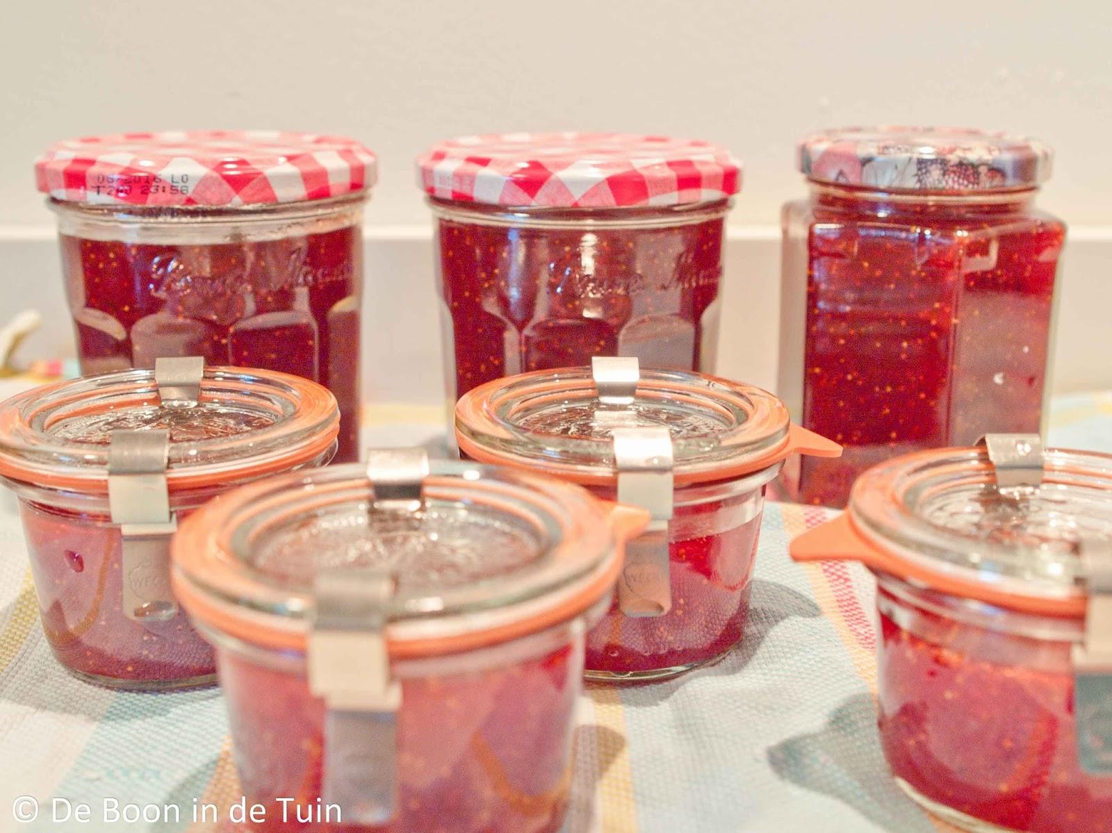 aardbeien aardbeienjam recept