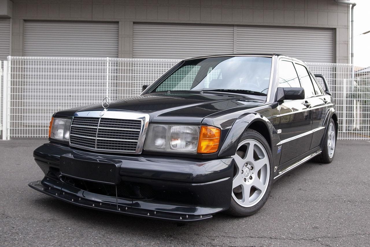 There s a super rare 1991 mercedes 190e 2 5 16v evo ii for for Mercedes benz 190e 2 5 16 evolution ii for sale