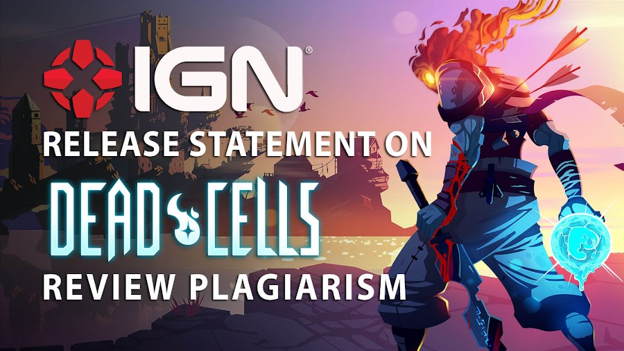 ign plagiarized dead cells review statement