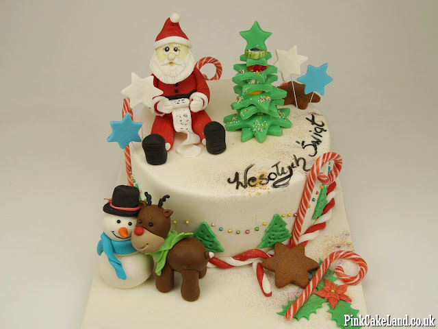 Christmas Cakes Surrey UK