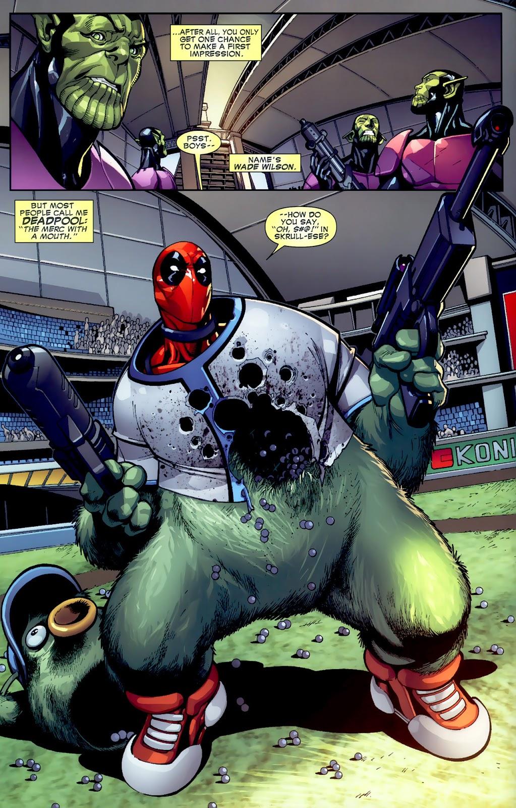 Read online Deadpool (2008) comic -  Issue #1 - 7