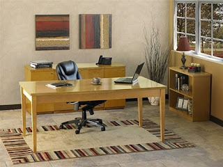 Fashionable Home Office Interior