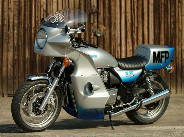 For Motorcycle fans: 92′ Kawasaki KZ1000P 'Kwakazilla' by