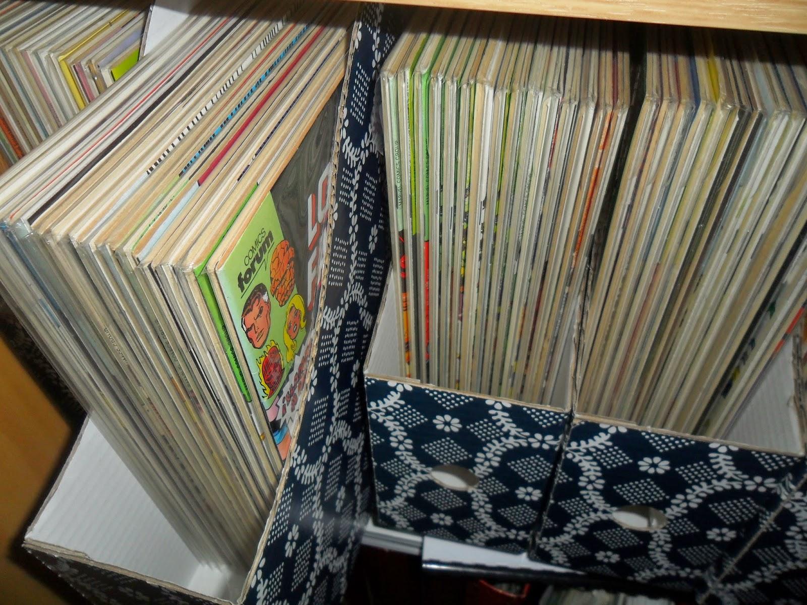 La casa del c mic sugerencias para conservar y organizar - Ordenar trastero ...