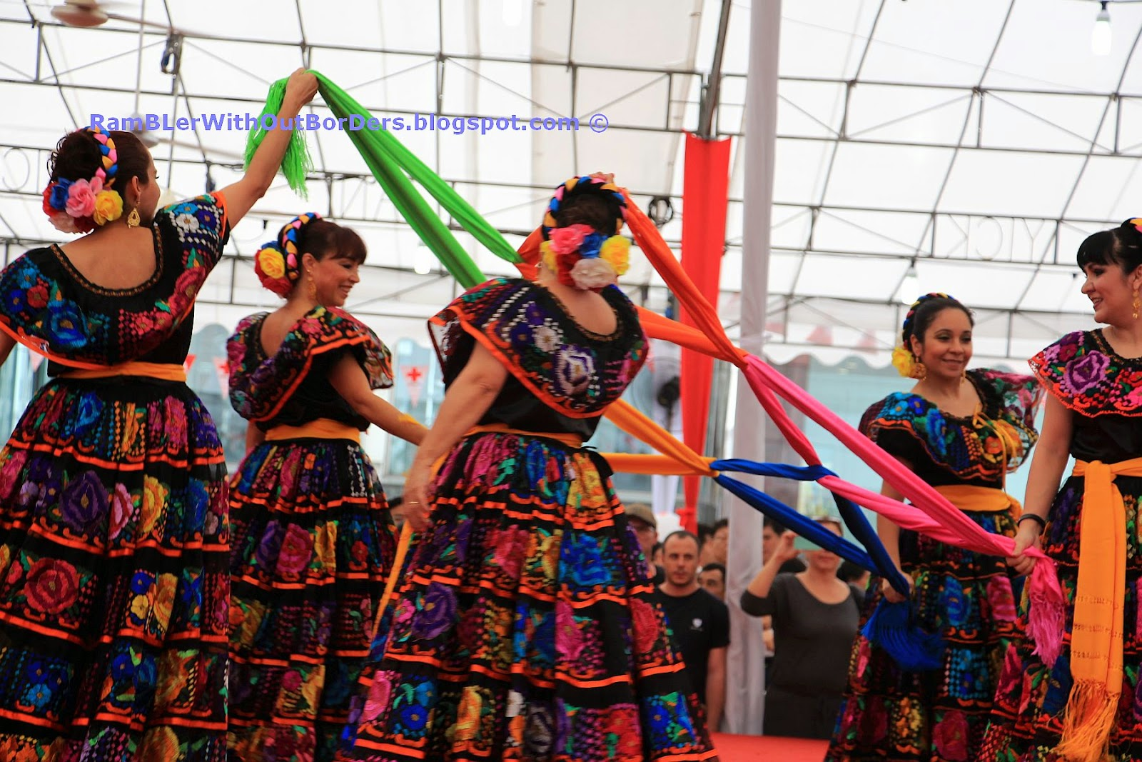 Mexican folk dance, Singapore International Red Cross Bazaar 2015