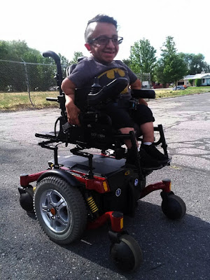 Photo of Jose Morales in his wheelchair