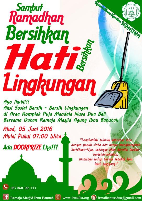 Kumpulan Poster Kegiatan Irmaiba Ramadhan 1437 H Ramadhan Kariim
